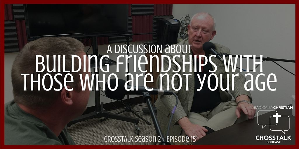 In this episode of the CrossTalk podcast, we are joined by special guest co-hosts, Ron McElyea and Jason Hinkle. The discussion this week revolves around building friendships with those who are not…
