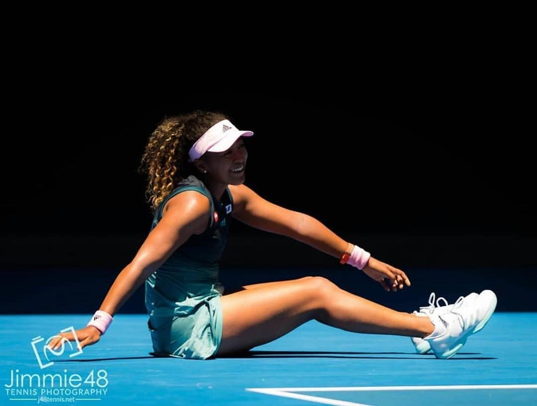 Naomi Allowed Herself To Fall Over With Grace To Avoid An Injury In Melbourne In 2019 Osaka Naomi Tennis Stars