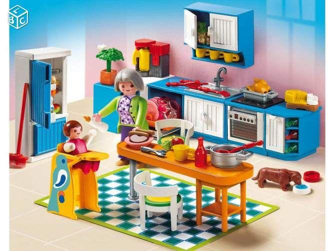 playmobil cuisine maison ville 5329 playmobil. Black Bedroom Furniture Sets. Home Design Ideas