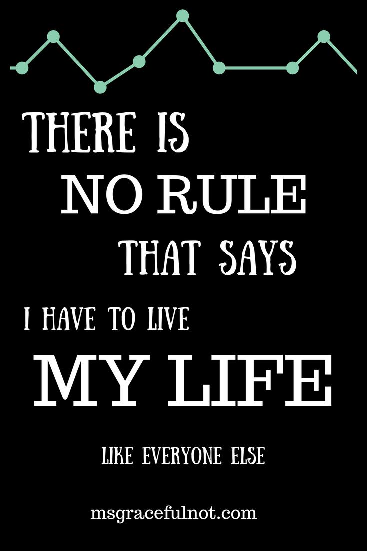 Be like everyone else