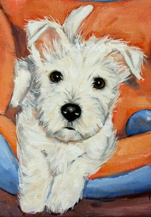 de Westy Hugo y sus amigos | West Highland Terrier ACEO WESTIE PRINT ...