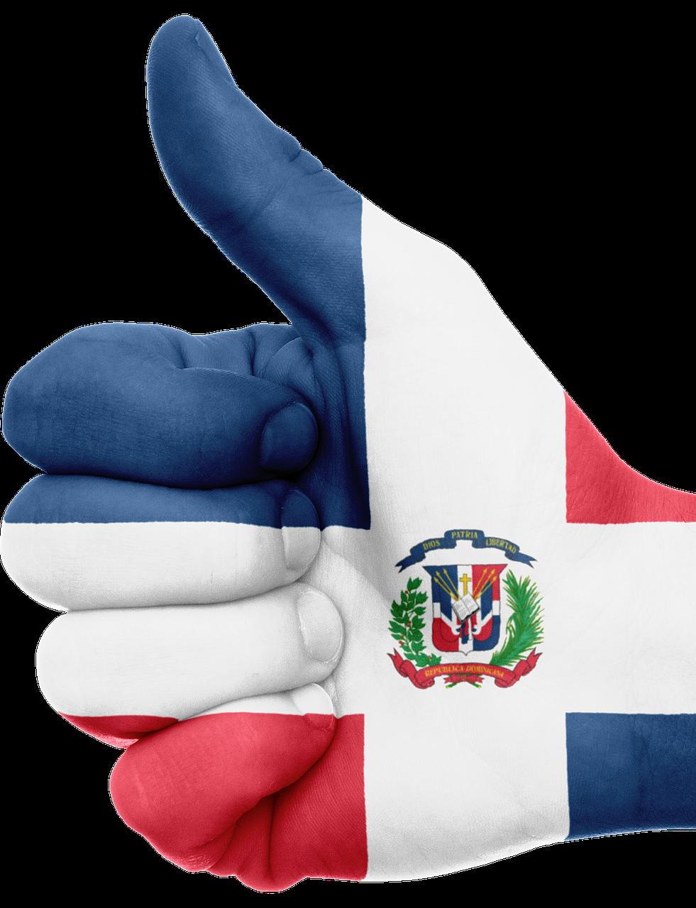 Una Pais Unico Dominican Republic Flag Dominican Republic Dominican Republic Beaches