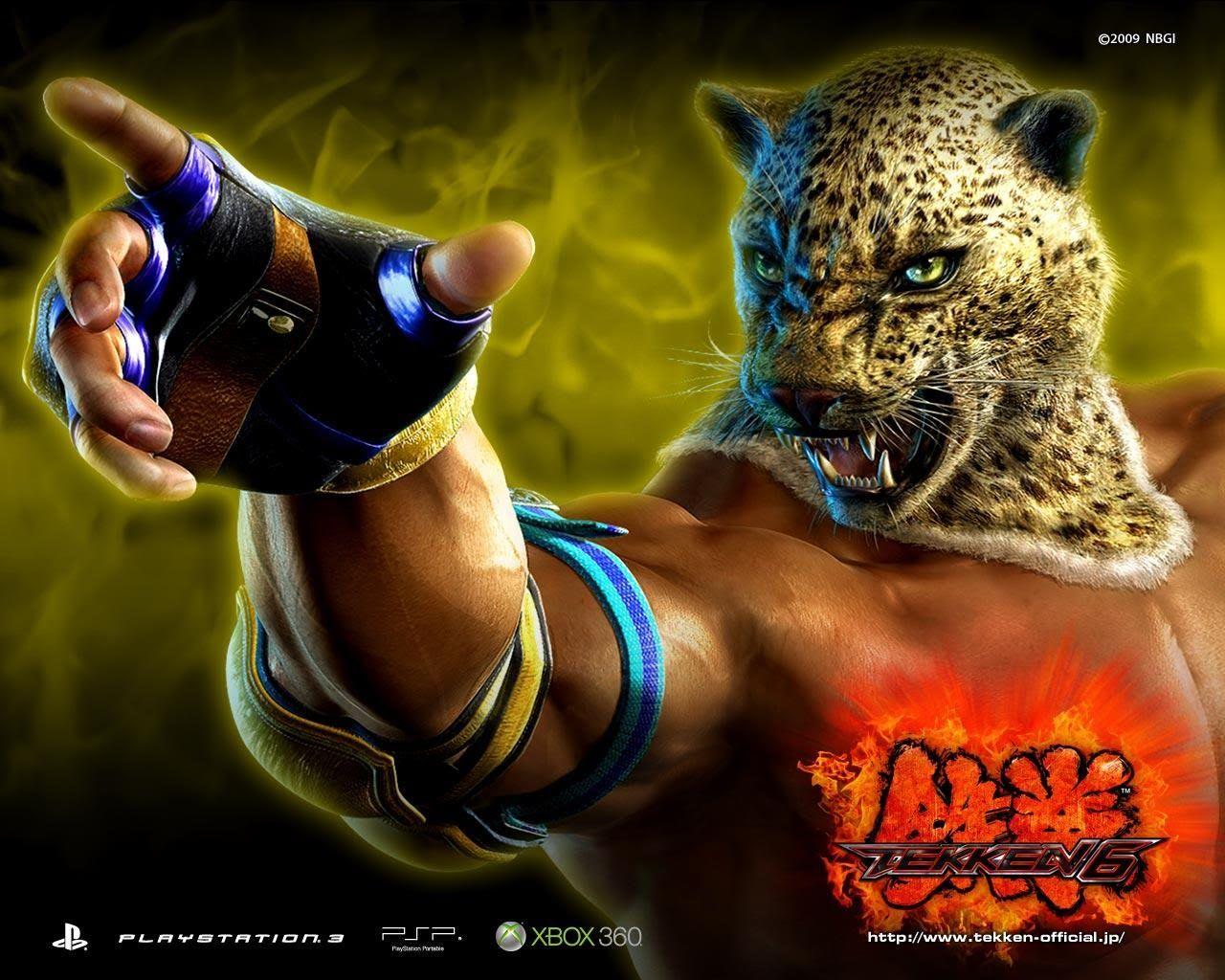 Tekken Wallpaper King Gallery Legendary Warriors Circus Animals