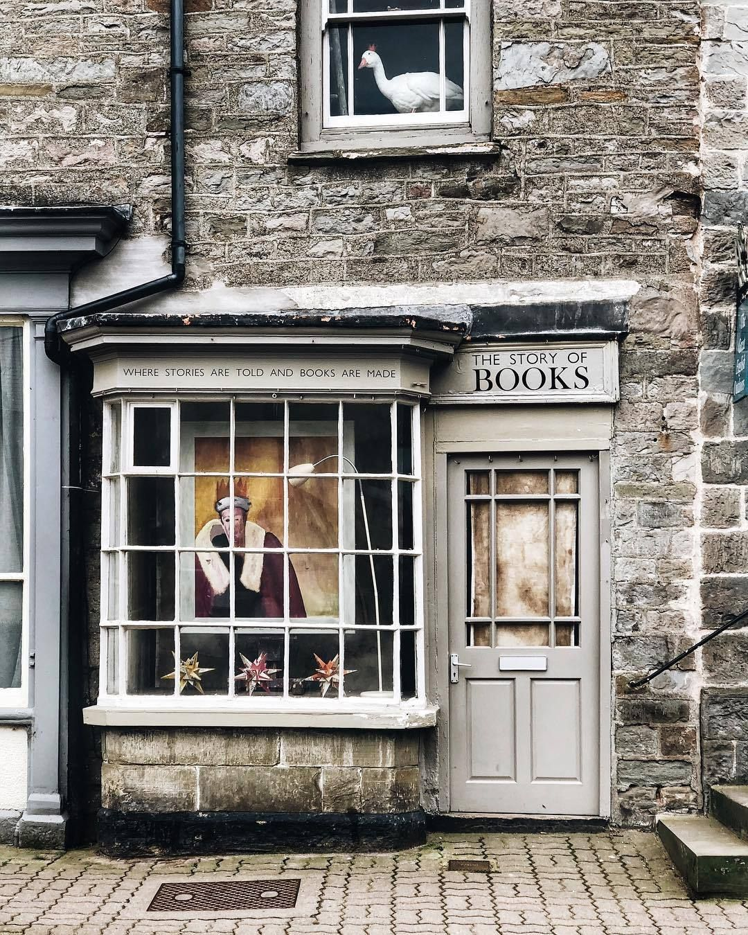 A Whimsical Romance Hay On Wye Uk Andreannu Quaint Store Books Bookstore