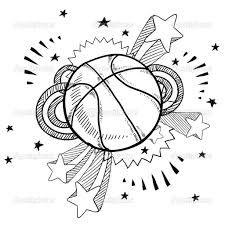 Basketball Doodle Google Search Bocetos Arte Dibujos