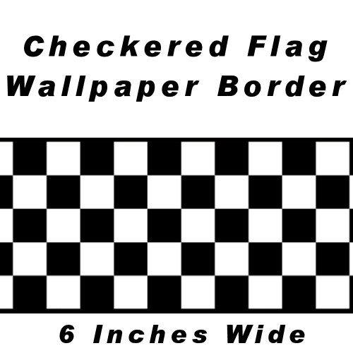 Disney Cars Checkered Wallpaper Border Save 13 04 Checkered Flag Cars Nascar Wallpaper Border 6 Inch Car Themed Bedrooms Kids Bedroom Decor Car Bedroom