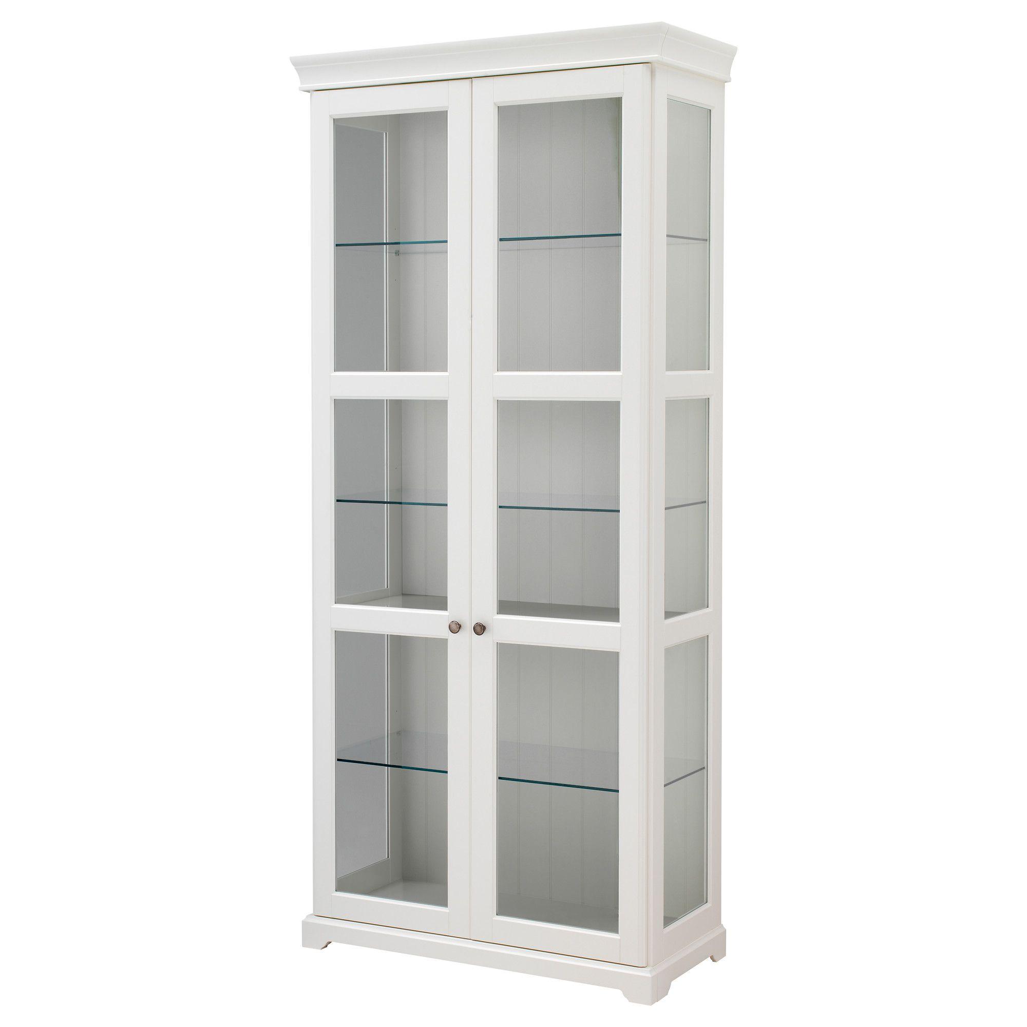 Liatorp Gl Door Cabinet White Ikea