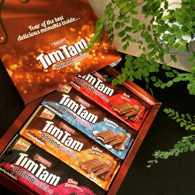 Ahhhh coming back to NZ just got a whole lot sweeter... Tim Tam  #timtammoments