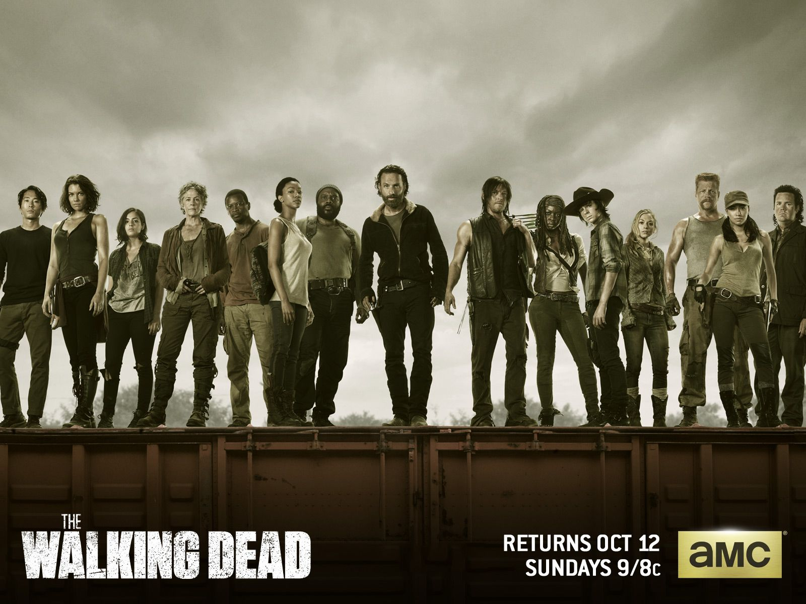 Programa De TV - The Walking Dead  Papel de Parede