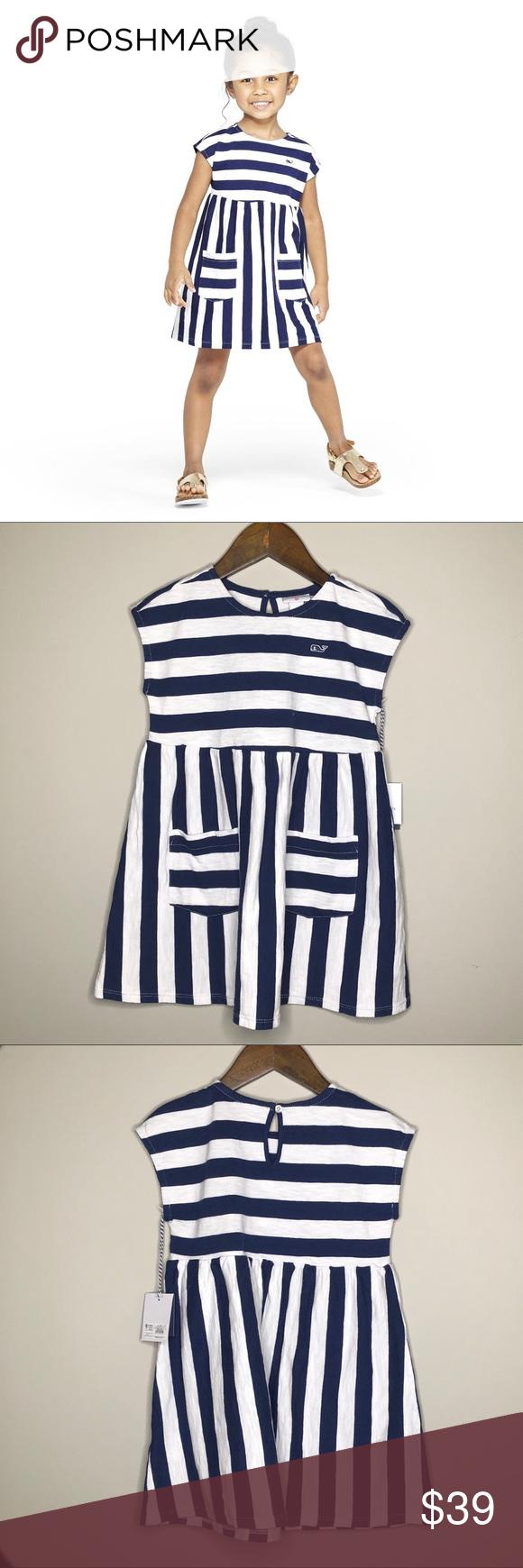 Nwt Vineyard Vines Target Striped Sleeveless Dress Striped Sleeveless Dress Casual Dresses Clothes Design [ 1740 x 580 Pixel ]