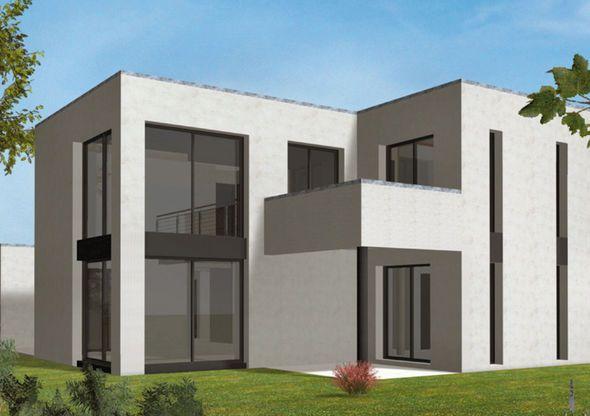 Grande maison moderne HQE