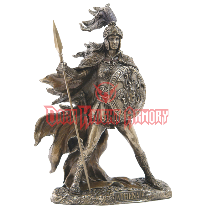 Veronese Design Athena Greek Goddess of Wisdom and War Bust Statue