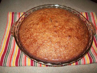 Rustic Cinnamon Molasses Coffee Cake
