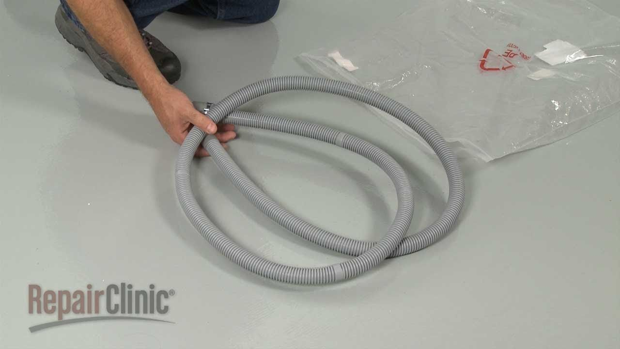 Samsung Washer Drain Hose Replacement Dc97 12534d Samsung Washer Samsung Washing Machine Washer Machine