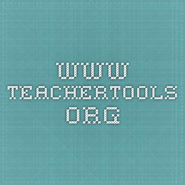 www.teachertools.org