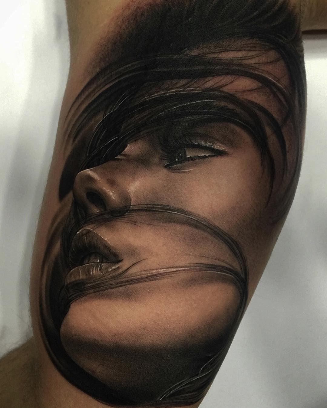 Tattoo Frau Gesicht
