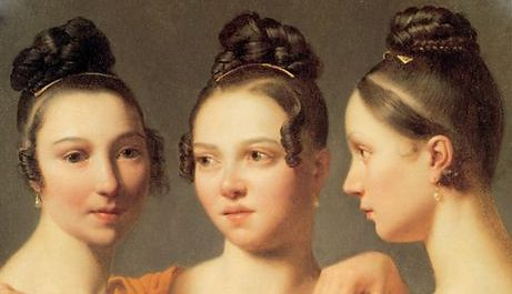 1815 Tages Frisuren Historical Hairstyles Vintage Hairstyles Hair Today
