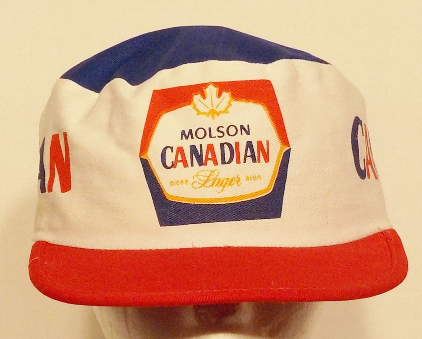 Molson Canadian Beer Painters type Hat Cap older hat from