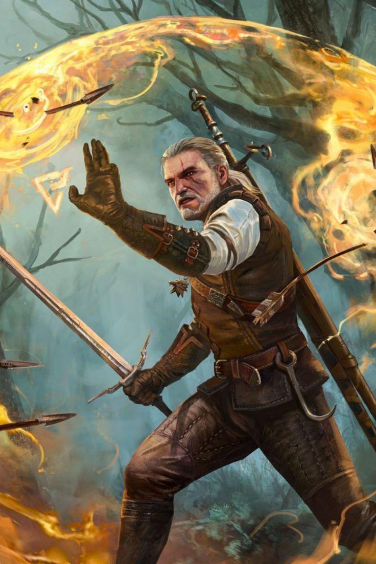 Geralt Quen poster by GWENT Official Brand Shop thumbnail