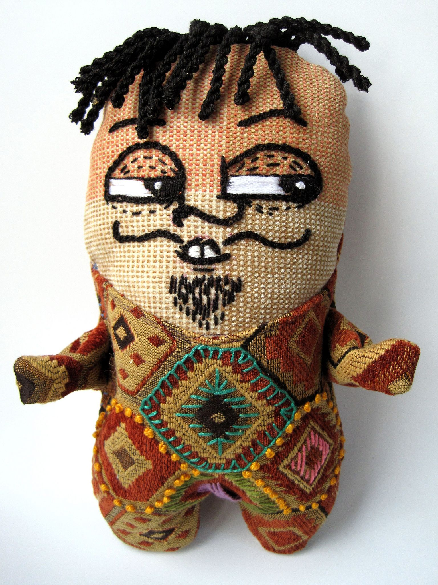 how to make a voodoo doll without sewing that works