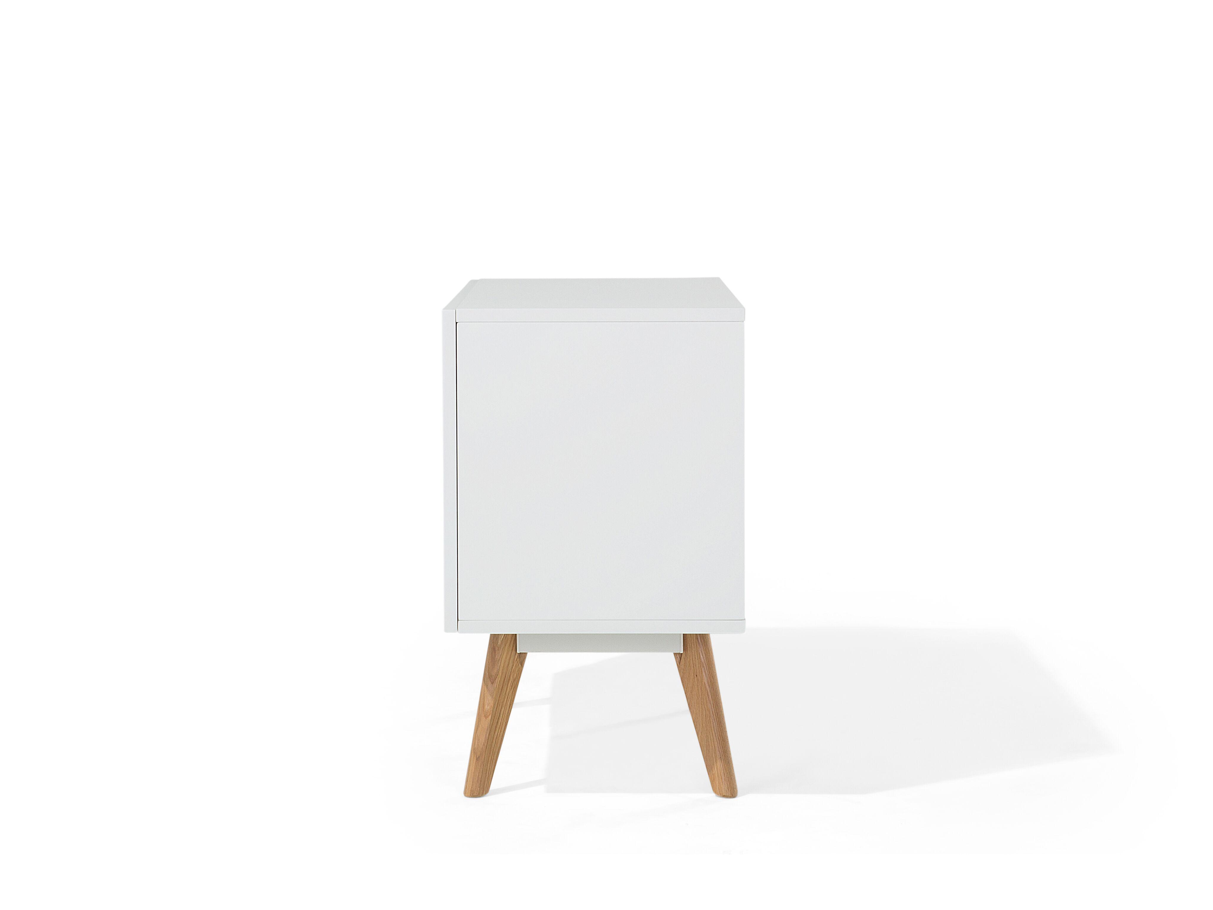 Photo of Credenza moderna bianca a due ante – SITKA