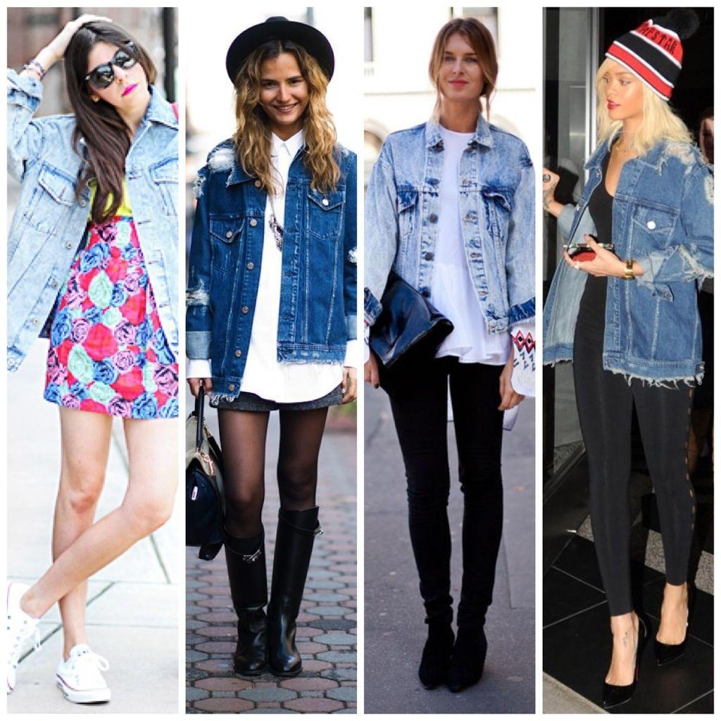 oversized jean jacket -Love them just got one