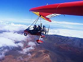 Hang Gliding Maui Powered Hang Glider Flights Above Beautiful Maui Hawaii Hang Gliding Kahului Hawaii Kahului