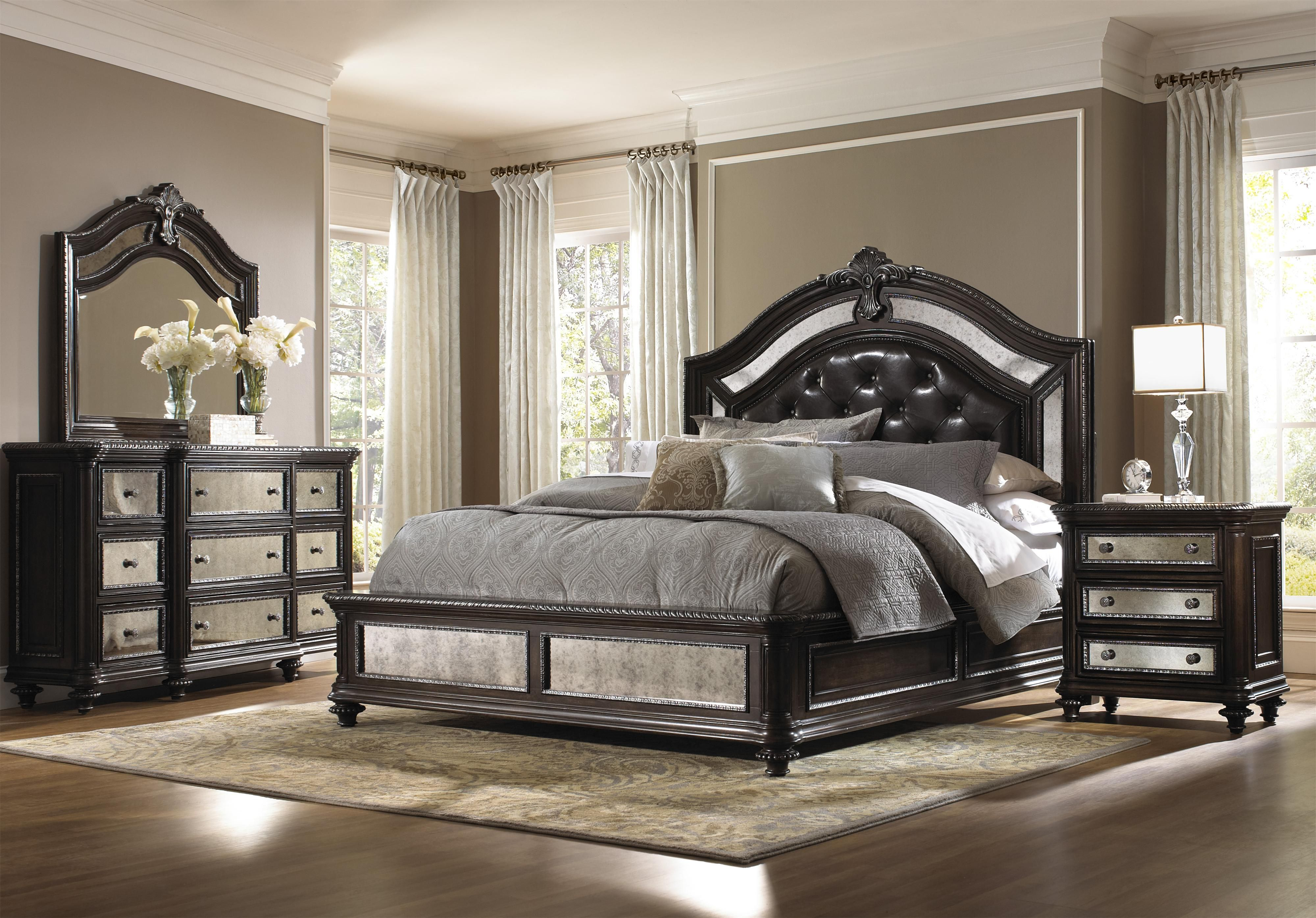 Reflexions California King Bedroom Group By Pulaski Furniture