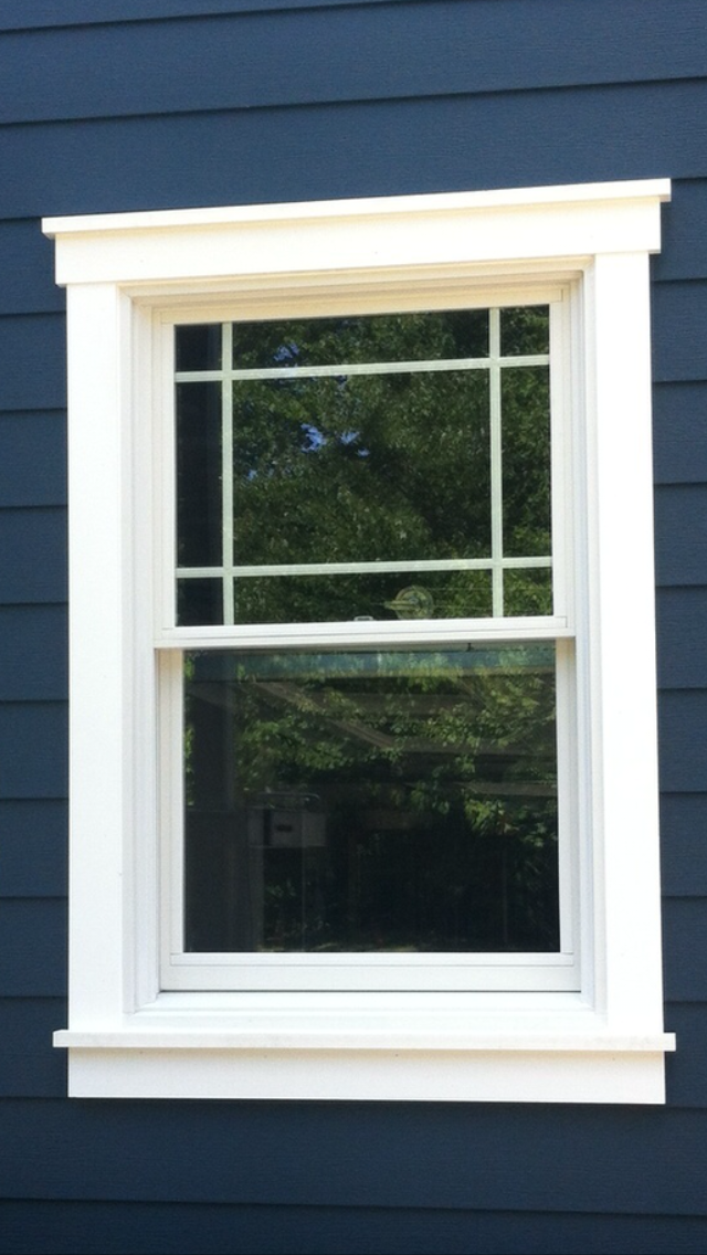 How to choose the best exterior window trim for your home for Decorative window trim exterior