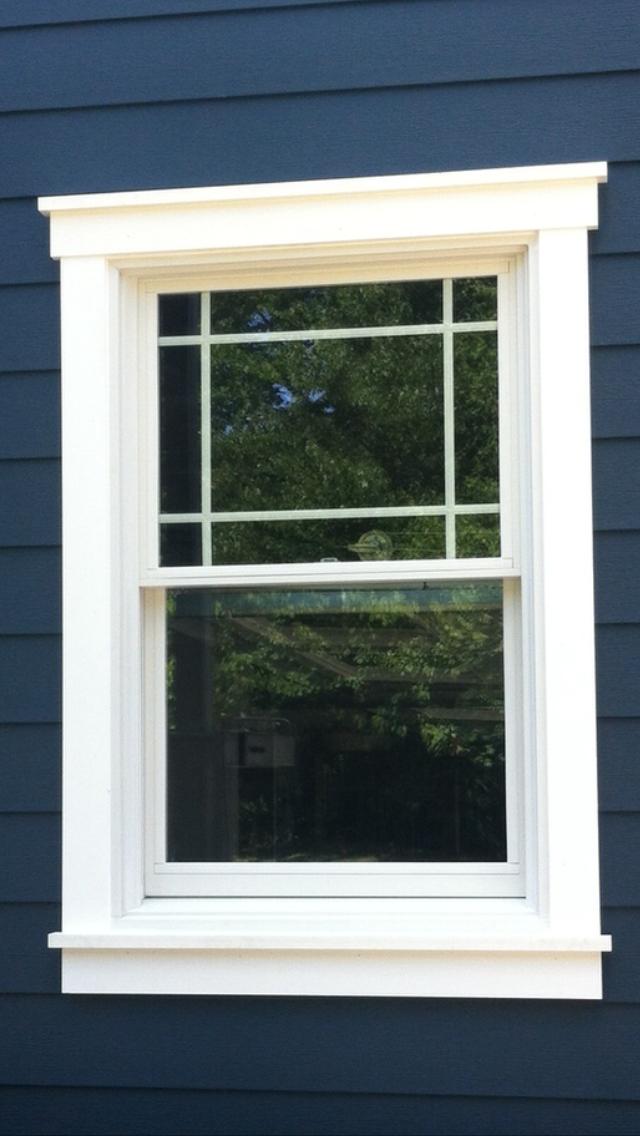 Outdoor Exterior Window Design Molding Trendecors