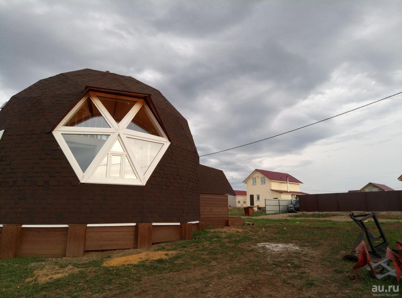 Готовый купольный дом 110 м.кв. в Емельяново (с ...