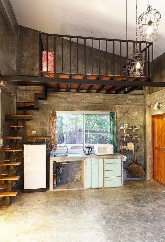 149 Wonderful Rustic Tiny House Design Ideas 41 Desain Rumah