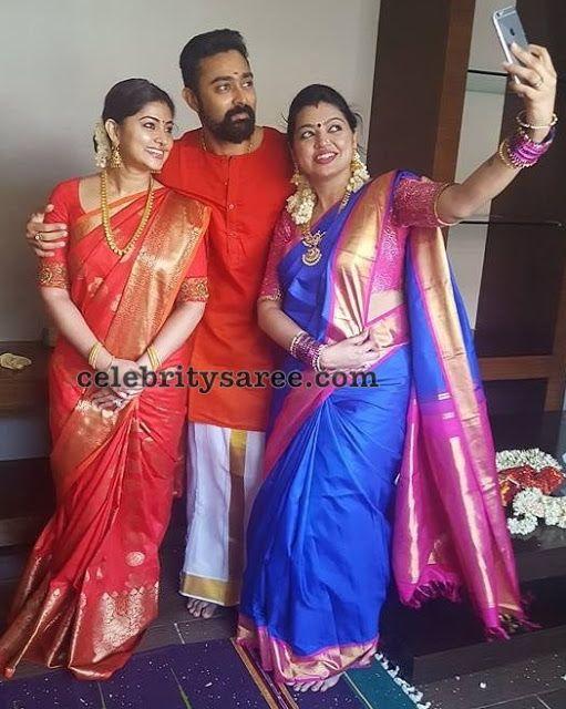 b26be48a7a Sneha and Sangeetha Latest Sarees | Celebrities Sarees | Saree ...