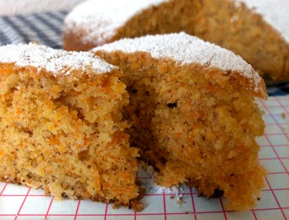 Karotten-Mandel-Kuchen
