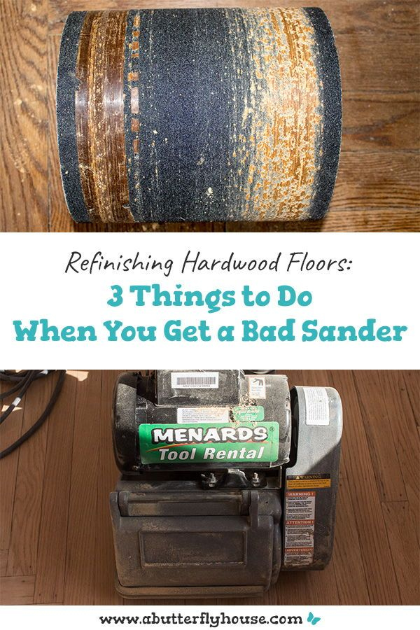 Refinishing Wood Floors 3 Things To Do When You Get a Bad