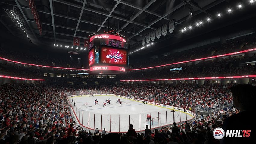 NHL 15 - Verizon Center  Home Ice: Washington Captials Location: Washington, D.C. Opened: December 2, 1997