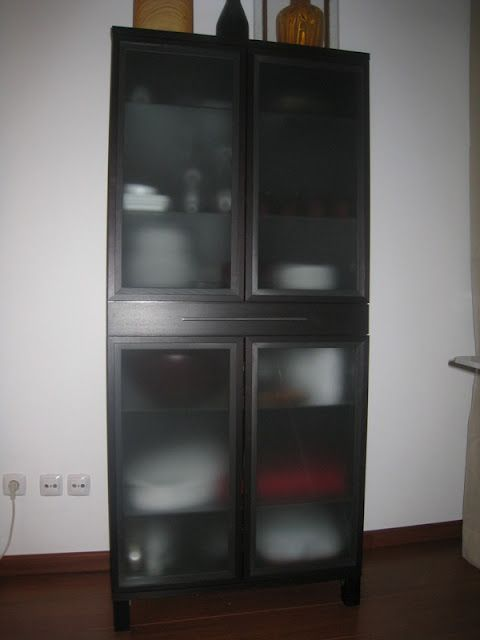 BJURSTA cabinet with cutlery drawer