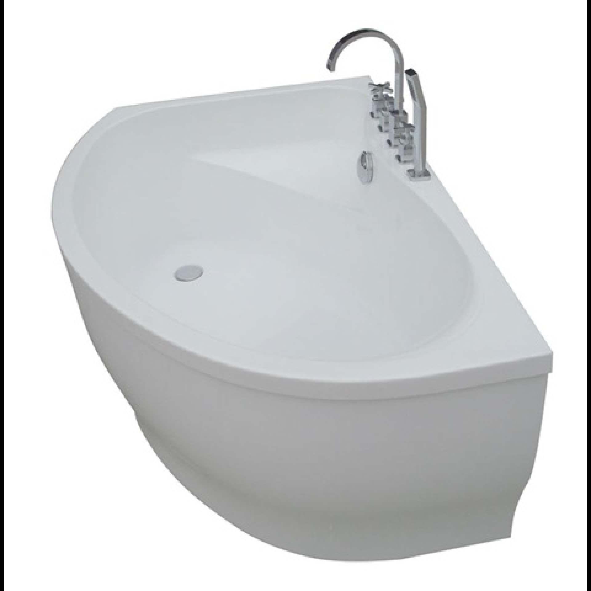 MODA ANGOLO Freestanding Bath 8mm Thick Acrylic Gloss - Product Code ...