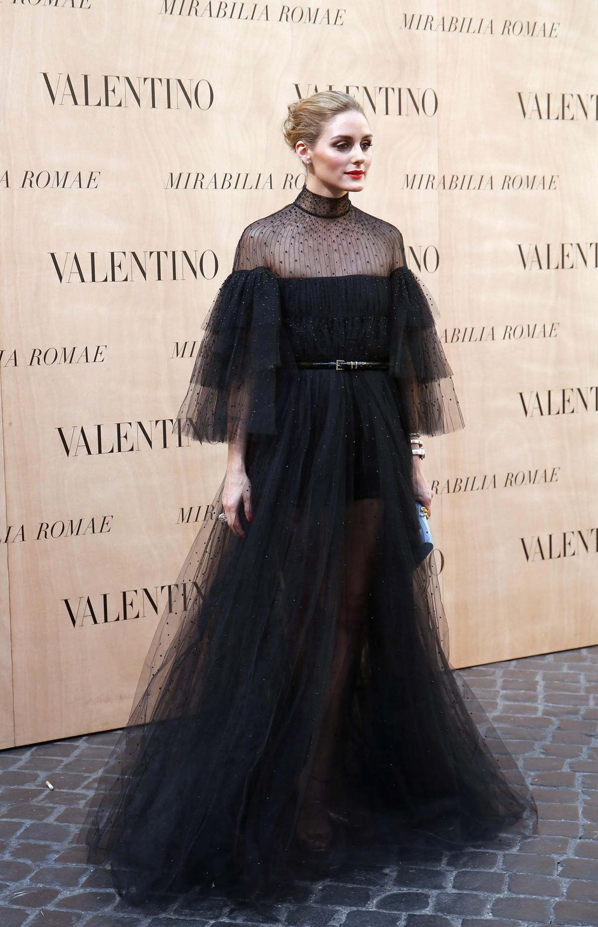 Olivia Palermo in Valentino at the Valentino couture show in Rome. Photo: Elisabetta Villa/Getty Images.