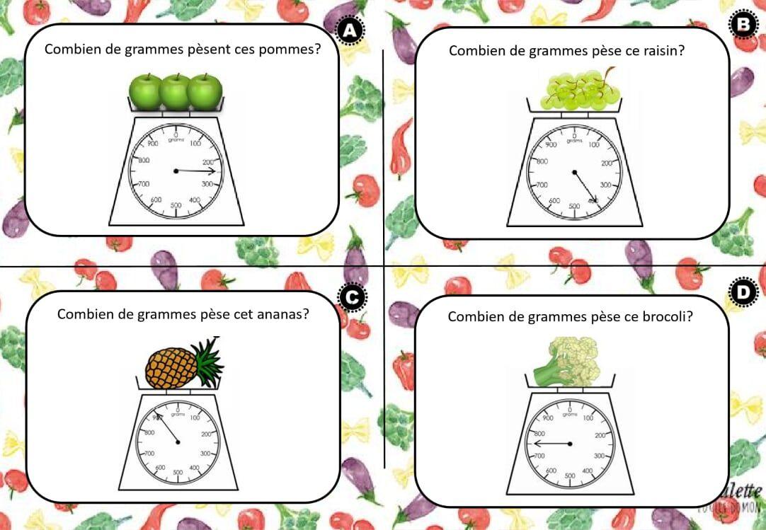 Cartes A Taches Sur Les Capacites Et Poids Pdf Onedrive Comics Math Peanut [ 749 x 1082 Pixel ]