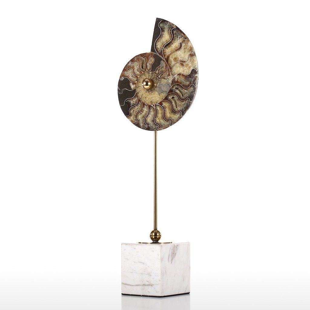 Diy Design Objects: Modern Decorative Object Ornament With Nautilus Shell DIY
