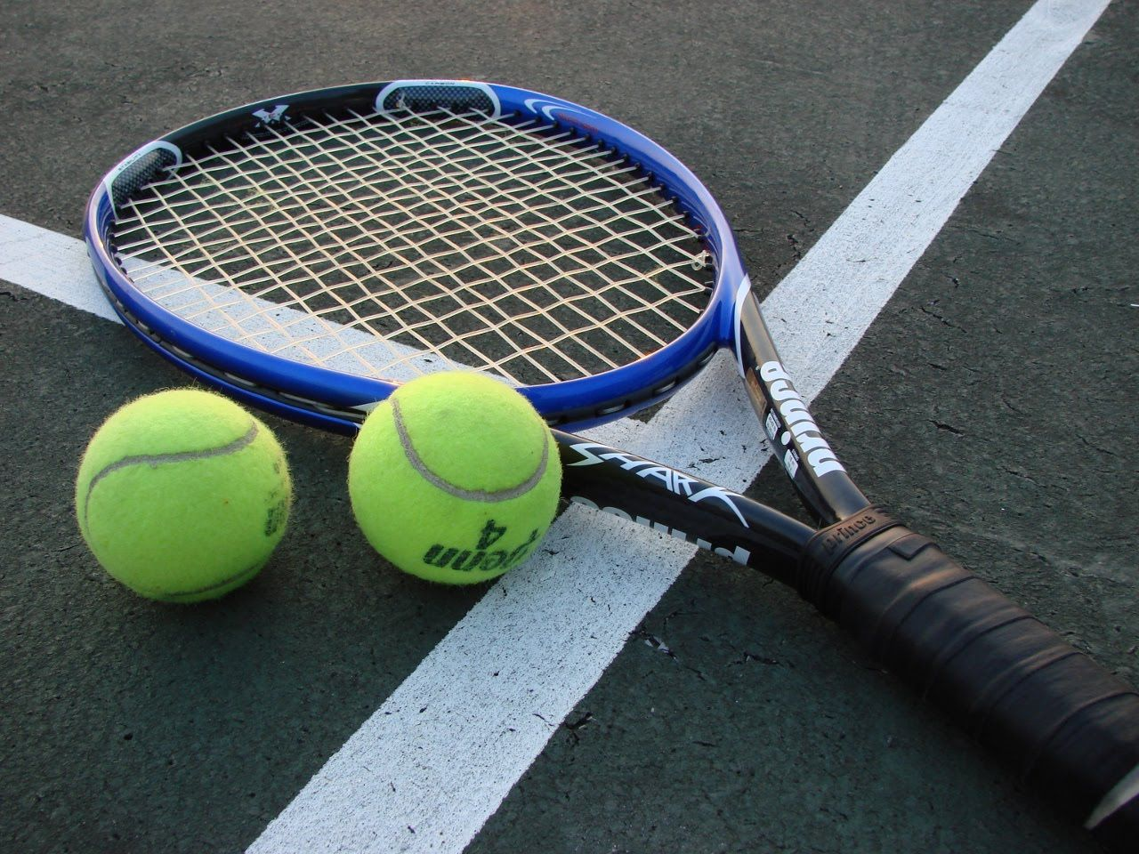 rqueta de tenis