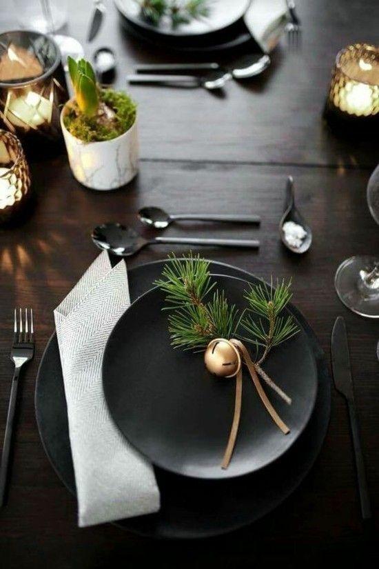 40 Ideen für weihnachtliche Tischdeko #weihnachtlichetischdekoration