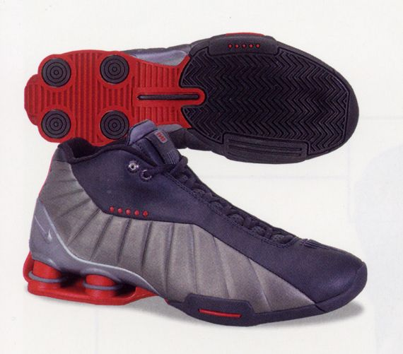 newest 1b995 63669 Nike Shox Vince Carter 2001 (BlackVarsity Red – Metallic-Silver) Sneakers  For Sale ...