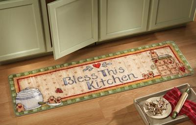 Gingerbread Runner - perfect for a Christmas Kitchen! | Rug ...