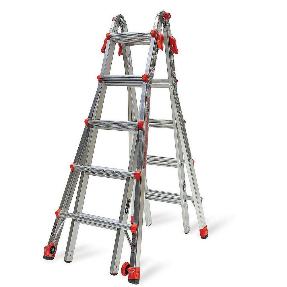 Little Giant Ladder Velocity Model 22 Multi Use 5 Step Ladder Type 1a Ebay Link Ladder