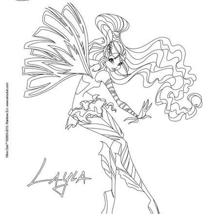 winx club coloring pages sirenix – funnycleanvideos.info