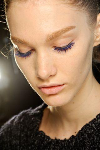 a8b5b796bd2 blue lashes that Pat McGrath created for Stella McCartney | Wake.Up ...