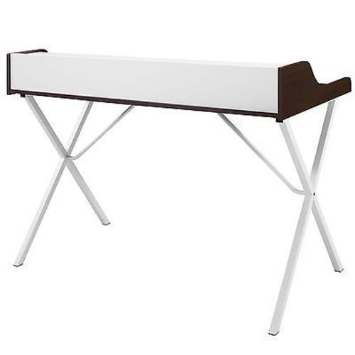 Contemporary Student Desk Table Four Easily Accessible Cubby Areas