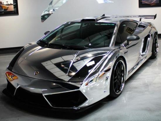 بالصور لمبرجيني غالاردو بقوة 1500 حصان ومغطاة بالكروم Lamborghini Gallardo Classy Cars Super Cars
